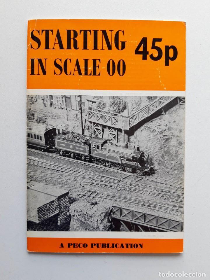 1968 CATÁLOGO DE TRENES STARTING IN SCALE 00, A PECO PUBLICATION, MODELISMO FERROVIARIO (Juguetes - Trenes - Varios)