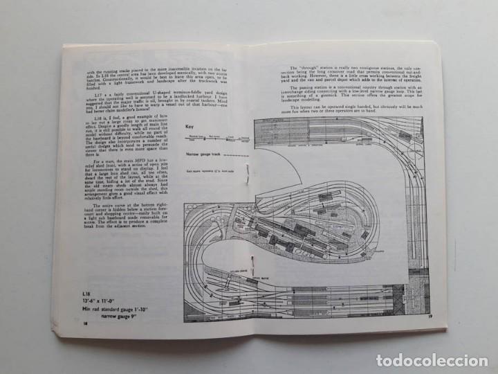 Trenes Escala: 1973 Catálogo de trenes Plans for larger layouts, A Peco Publication, modelismo ferroviario - Foto 3 - 194402857