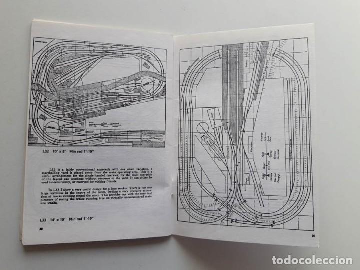 Trenes Escala: 1973 Catálogo de trenes Plans for larger layouts, A Peco Publication, modelismo ferroviario - Foto 4 - 194402857