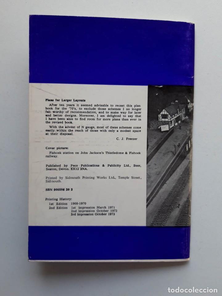 Trenes Escala: 1973 Catálogo de trenes Plans for larger layouts, A Peco Publication, modelismo ferroviario - Foto 5 - 194402857