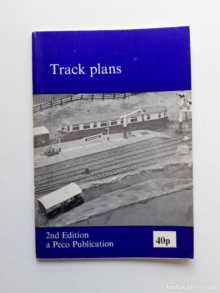 1974 CATÁLOGO DE TRENES TRACK PLANS, A PECO PUBLICATION, MODELISMO FERROVIARIO (Juguetes - Trenes - Varios)