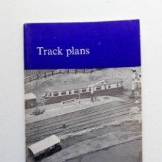 Trenes Escala: 1974 CATÁLOGO DE TRENES TRACK PLANS, A PECO PUBLICATION, MODELISMO FERROVIARIO. Lote 194402912