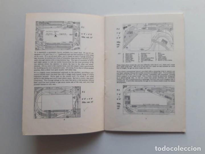 Trenes Escala: 1974 Catálogo de trenes Track plans, A Peco Publication, modelismo ferroviario - Foto 2 - 194402912