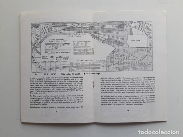 Trenes Escala: 1974 Catálogo de trenes Track plans, A Peco Publication, modelismo ferroviario - Foto 4 - 194402912