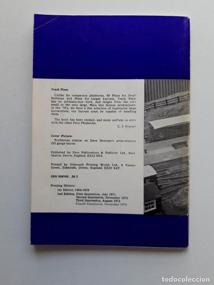Trenes Escala: 1974 Catálogo de trenes Track plans, A Peco Publication, modelismo ferroviario - Foto 5 - 194402912