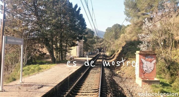 ESTACIÓN DE DUESAIGÜES-L 'AGENTERA -TARRAGONA (Juguetes - Trenes - Varios)