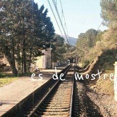 Trenes Escala: ESTACIÓN DE DUESAIGÜES-L 'AGENTERA -TARRAGONA. Lote 194407945