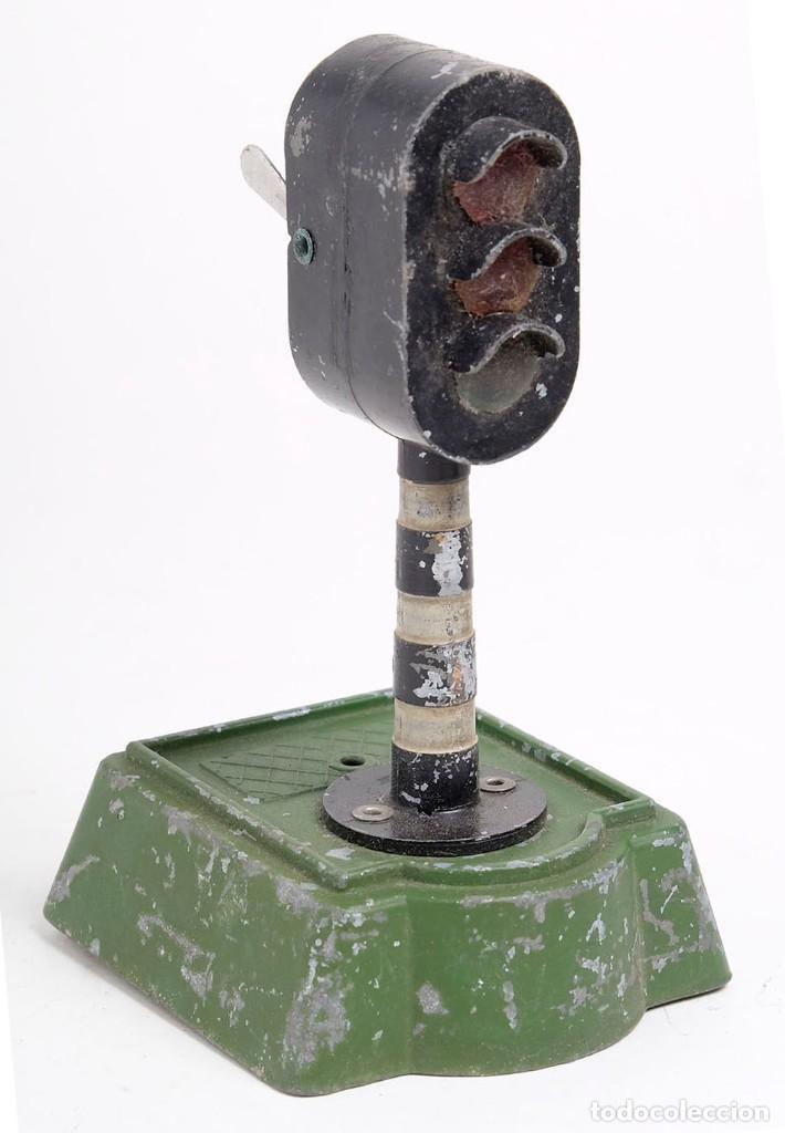 Trenes Escala: Antiguo semáforo de tren. Marca ASTRA. Inglaterra. - Foto 2 - 194416132