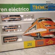 Trenes Escala: TREN TGV FRANCÉS IBERTREN TRENEX REF.5104 - FUNCIONA - PRÁCTICAMENTE COMO NUEVO. Lote 194468473