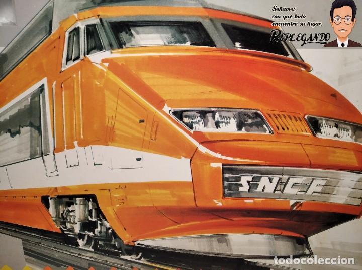 Trenes Escala: TREN TGV FRANCÉS IBERTREN TRENEX REF.5104 - FUNCIONA - PRÁCTICAMENTE COMO NUEVO - Foto 4 - 194468473
