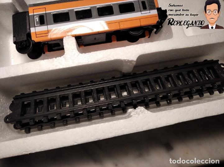 Trenes Escala: TREN TGV FRANCÉS IBERTREN TRENEX REF.5104 - FUNCIONA - PRÁCTICAMENTE COMO NUEVO - Foto 9 - 194468473