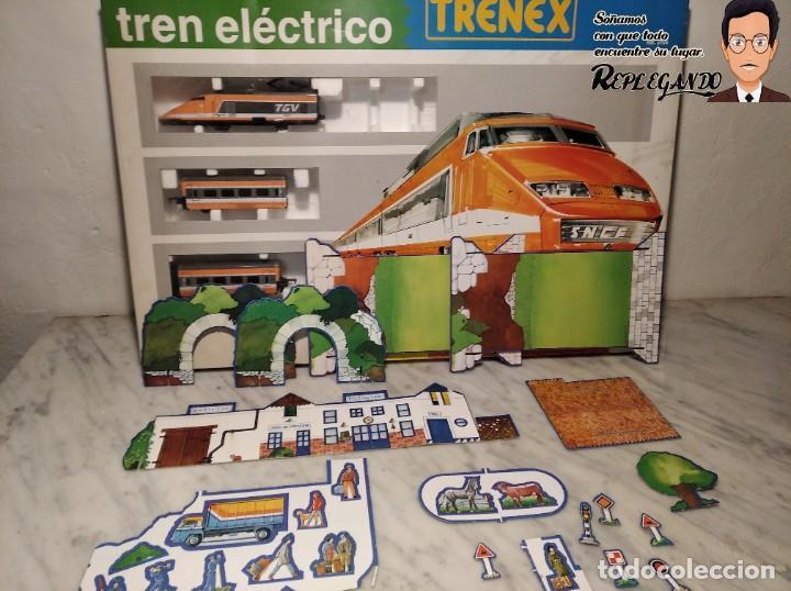 Trenes Escala: TREN TGV FRANCÉS IBERTREN TRENEX REF.5104 - FUNCIONA - PRÁCTICAMENTE COMO NUEVO - Foto 15 - 194468473