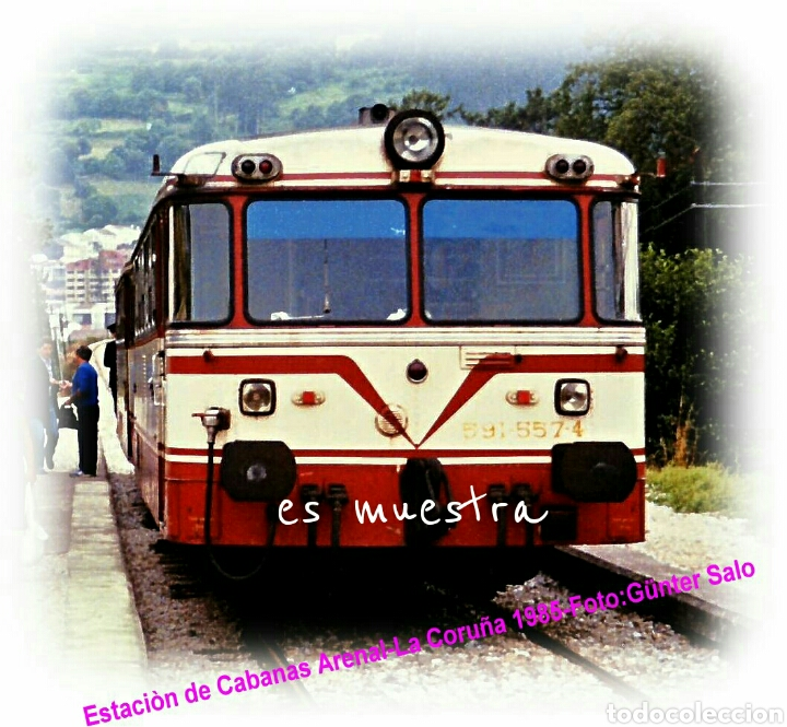 1985 CABANAS O ARENAL- PONTEDEUME (Juguetes - Trenes - Varios)