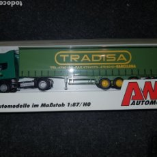 Trenes Escala: AWM AUTOMODELLE HO CAMION TRADISA. Lote 194774776