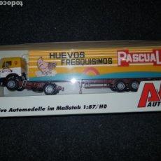 Trenes Escala: AWM AUTOMODELLE HO CAMION HUEVOS PASCUAL. Lote 194774972
