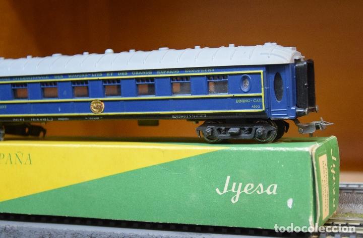 JYESA H0 ANTIGUO COCHE RESTAURANTE DE LA WAGONS-LITS (CIWL) REFERENCIA 1650. (Juguetes - Trenes Escala H0 - Otros Trenes Escala H0)