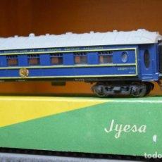 Trenes Escala: JYESA H0 ANTIGUO COCHE RESTAURANTE DE LA WAGONS-LITS (CIWL) REFERENCIA 1650. . Lote 194860603