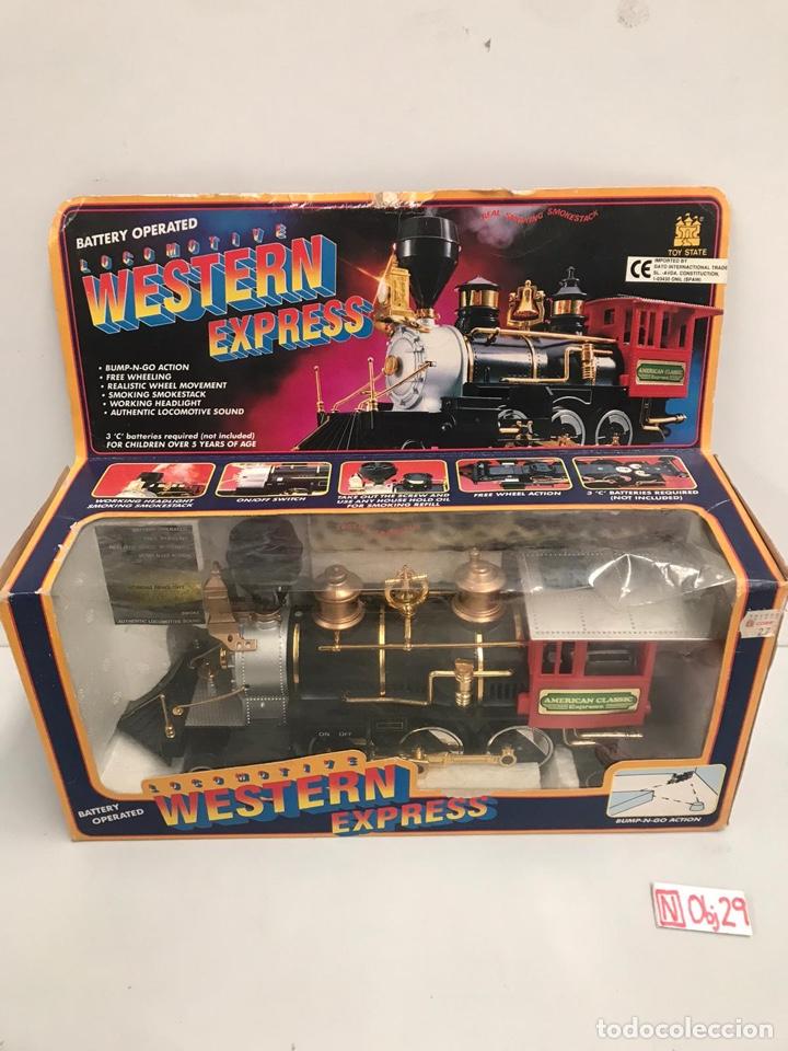 TREN WESTERN EXPRESS (Juguetes - Trenes - Varios)