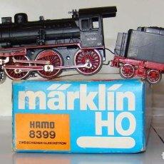 Trenes Escala: LOCOMOTORA DE VAPOR DE LA MARCA MARKLIN HAMO REF:8399 ESCALA HO CC.. Lote 194953730