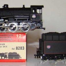 Trenes Escala: LOCOMOTORA DE VAPOR DE LA MARCA JOUEF REF:8283 ESCALA HO CC.. Lote 194953837