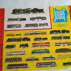 Trenes Escala: JOUEF CATÁLOGO TRENES Y SLOT COCHES. Lote 194972681