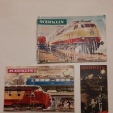 Trenes Escala: LOTE CATALOGOS MARKLIN 1965 / 66 / 67. Lote 195037470