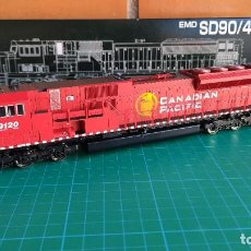 Trenes Escala: LOCOMOTORA KATO EMD SD90/43MAC CANADIAN PACIFIC #9120 ESCALA H0. Lote 195060640