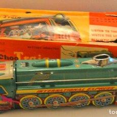 Trenes Escala: CHOO CHOO TRAIN - M066 - MADE IN CHINA - AÑOS 70 - EN CAJA DETERIORADA - UNICO EN TC. Lote 195091320