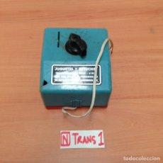 Trenes Escala: TRANSFORMADOR ANTIGUO. Lote 195095942