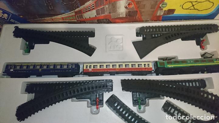Trenes Escala: OCASION COLECCIONISTAS Tren Electrico Valtoy completo Muy largo Union Pacific Valenciana d Jueguete - Foto 3 - 195235905