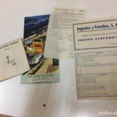 Trenes Escala: CATALOGO Y DOCUMENTACION H0 JYESA. Lote 195238367