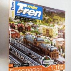 Trenes Escala: REVISTA MAS TREN 2015 Nº107. N MAQUETA MÁS. MINIATUR. Lote 195255032