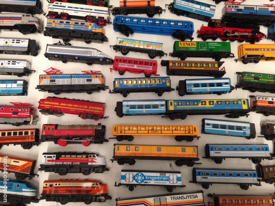 Trenes Escala: Lotazo de trenes , vagones , etc renfe , ave ver fotos - Foto 8 - 195280938