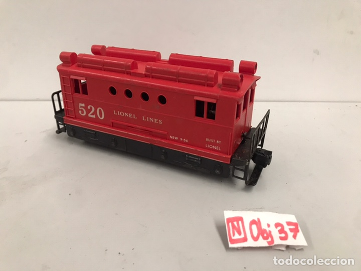 LIONEL #520 POST WAR BOX CAB LOCOMOTIVE (Juguetes - Trenes - Varios)
