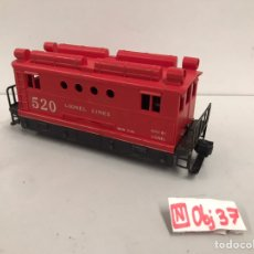 Trenes Escala: LIONEL #520 POST WAR BOX CAB LOCOMOTIVE. Lote 195323067