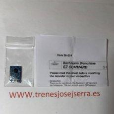 Trenes Escala: DECODER EZ COMMAND 21 PINS MULTIPROTOCOLO. Lote 197345337