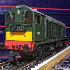 Trenes Escala: LOCOMOTORA DIESEL BACHMANN 32-028 - CLASS 20 DIESEL D8134 BR GREEN, WITH INDICATOR BOXES. Lote 197478345