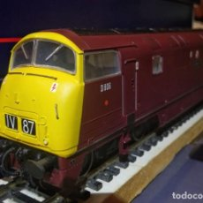 Trenes Escala: LOCOMOTORA DIESEL BACHMANN 32-056 CLASS 42 WARSHIP DIESEL D806 CAMBRIAN BR MAROON. Lote 197480856