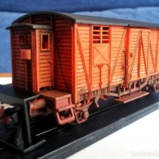 Trenes Escala: KTRAIN 0702-E. VAGÓN CERRADO TREN DE INTERVENCIÓN RENFE. Lote 197659596