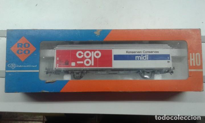 Trenes Escala: Vagón de mercancía Roco NUEVO - Foto 2 - 197863856