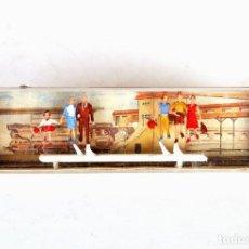 Trenes Escala: MERTEN GERMANY BOX 2301 • FIGURAS PASAJEROS BAJANDO EN GRUPOS MAQUETA FERROVIARIA • ESCALA H0 - 1:87. Lote 197945966