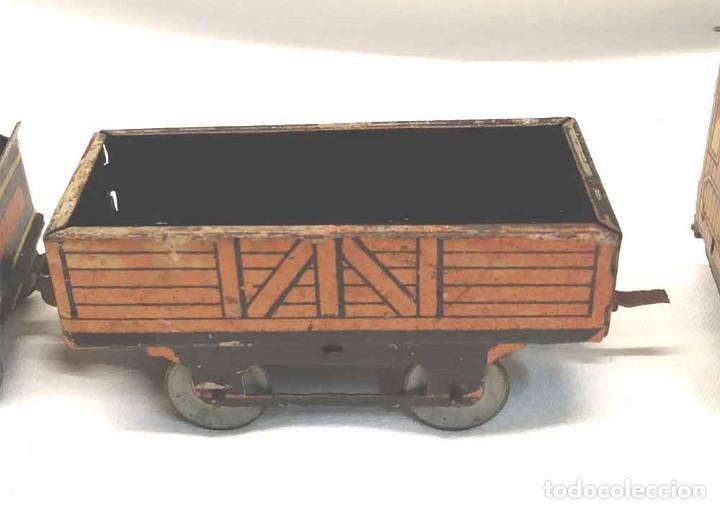 Trenes Escala: Locomotora Tren 264 Cervantes hojalata litografiada años 50 - Foto 9 - 197958233