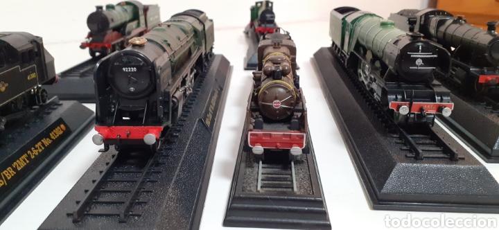 Trenes Escala: LOTE DE MAQUINAS DE TREN ESCALA H0- ESTATICAS Y 1 ELECTRICA DE LIMA - Foto 39 - 198478217