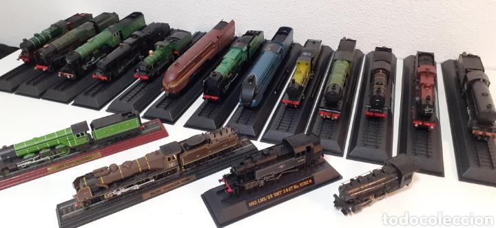 Trenes Escala: LOTE DE MAQUINAS DE TREN ESCALA H0- ESTATICAS Y 1 ELECTRICA DE LIMA - Foto 43 - 198478217