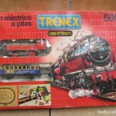 Trenes Escala: TREN ELECTRICO A PILAS TRENEX IBERTREN 5002. Lote 198547285