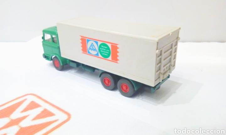 Trenes Escala: JIFFY VENDE CAMIÓN WIKING H0 1:87 MERCEDES CMA (1/2) - Foto 2 - 198572751