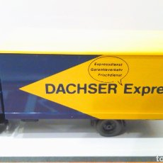 Trenes Escala: CAMION WIKING H0 1:87 MERCEDES DACHSER EXPRESS (2/2). Lote 198573521