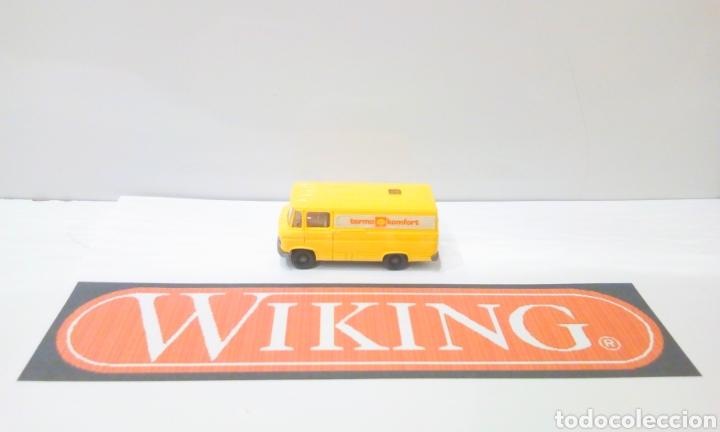 JIFFY VENDE FURGON WIKING H0 1:87 MERCEDES SHELL TERMO KONFORT FURGONETA (Juguetes - Trenes Escala H0 - Otros Trenes Escala H0)