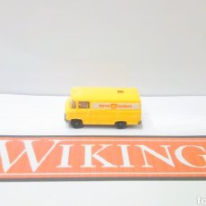 Trenes Escala: JIFFY VENDE FURGON WIKING H0 1:87 MERCEDES SHELL TERMO KONFORT FURGONETA. Lote 198574398