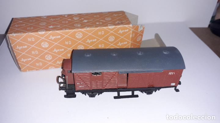 Trenes Escala: JYESA VAGON HO MERCANCIAS JYESA, TREN DE JUGUETE, TREN ANTIGUO - Foto 3 - 198945516